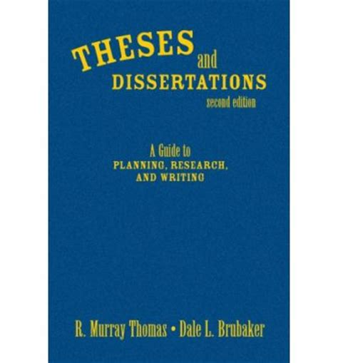 South african theses and dissertations